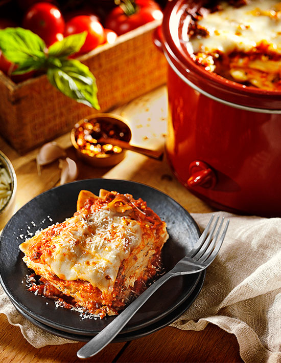 Slow Cooker Mini Pierogy Lasagna