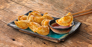 Sweet And Spicy Sriracha Mini Pierogies