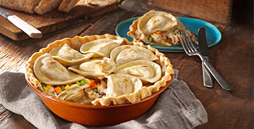 Deep Dish Pierogy Pot Pie