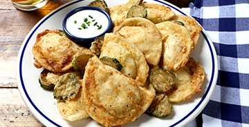 Chicken-Fried Pierogies
