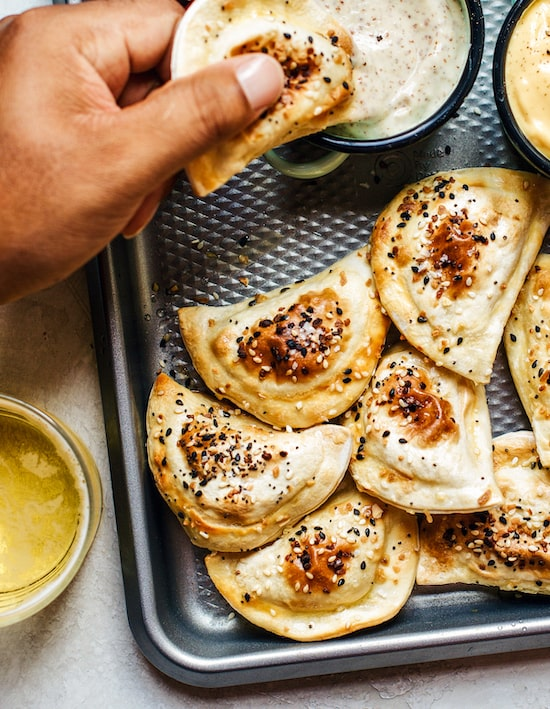 Everything Toasted Pierogies