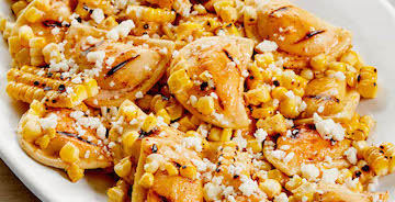 Mexican Street Corn Mini Pierogy Salad