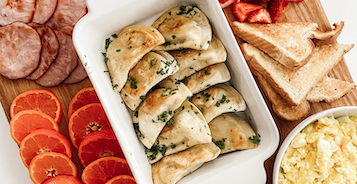Breakfast Pierogies Sampler