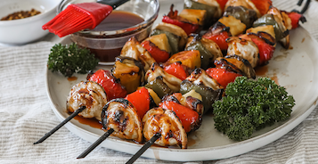 Sweet & Sour Pierogy Kabobs