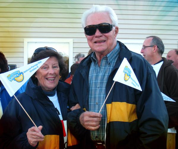 Mrs. T's original owner celebrating National Pierogy Day