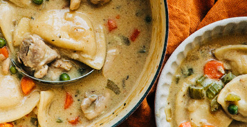 Pierogy Chicken Stew