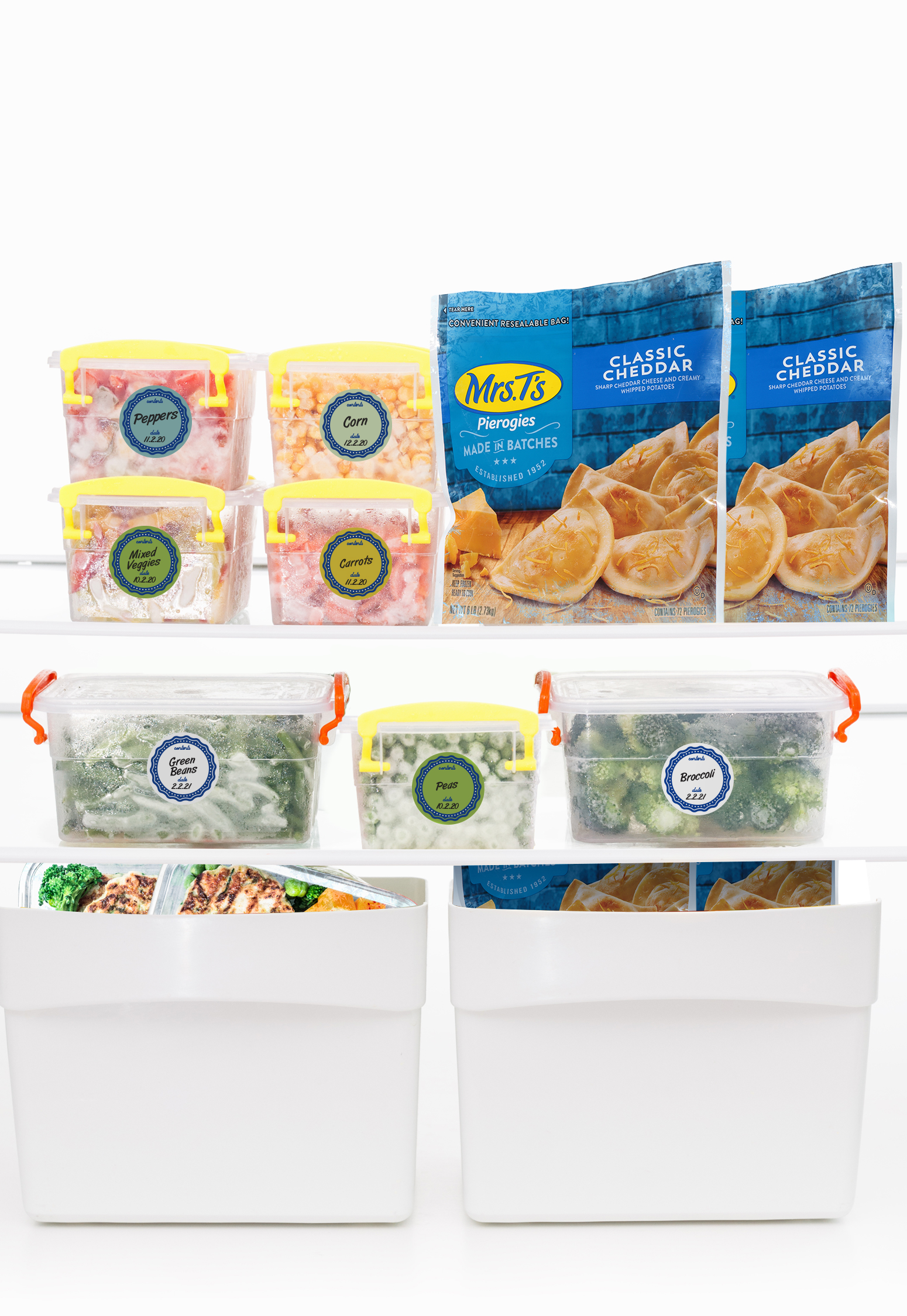 Freezer Cleaning and Organizing